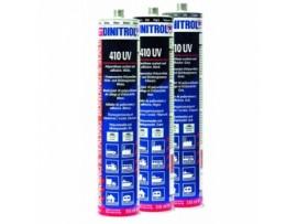 Poliuretano klijai - hermetikas 0,31l 410 UV DINITROL Pilkas