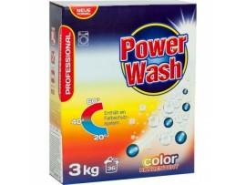 Skalbimo milteliai Power Wash Professional Color 3kg