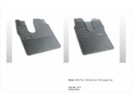 Guminiai kilimėliai sunkvežimiams MAN TGL,TGM-dieninė, TGS-miegamasis nuo 2005
