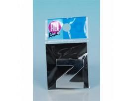 Chromuotas lipdukas raidė Z