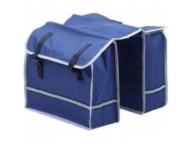 Dviračio krepšys dvigubas