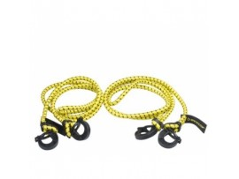 Elastinės bagažo tvirtinimo juostos 2vnt 50cm Dunlop