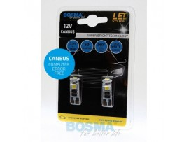 Lemputės BOSMA 3xSMD 5050 LED T10 WHITE