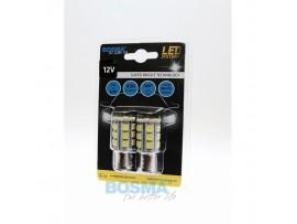 Lemputės BOSMA 12V 24xSMD 5050 LED BA15S WHITE 2vnt.