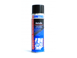Antikorozinė danga automobilio dugnui 0,5L Metallic Spray