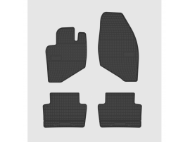 Guminiai kilimėliai  Volvo S60 I, V70 I, S80 I (2000-2004)  4vnt/kpl