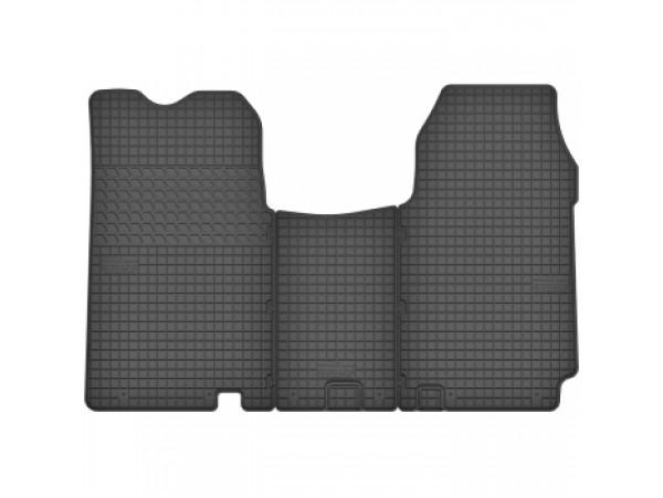 Guminiai kilimėliai  Nissan Primastar nuo (2006), Vivaro I, Trafic II  (2001-2014),  3vnt/kpl