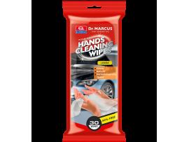 Drėgnos servetėlės rankoms valyti Dr. Marcus Lemon