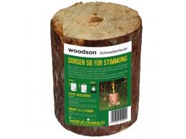 Kaladė- žvakė Woodson Log Candle
